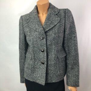 Banana Republic gray wool blend blazer Sz Medium